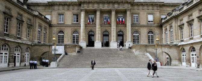 France - Palace of Justice - Paris