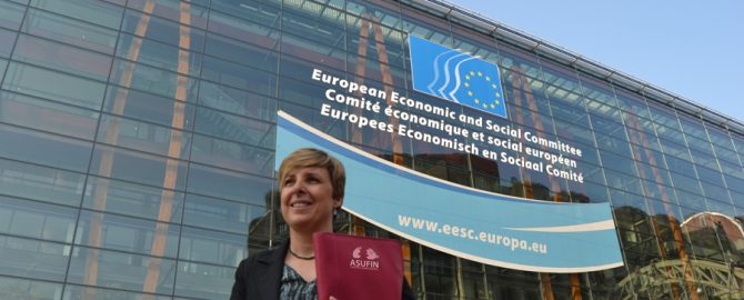 Patricia Suárez. Asufin. Bruselas