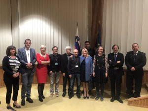 Participants Fx Loans Congress in Slovenian National Council